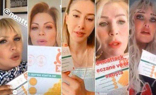Sahte ilaç reklamı yapan ünlülere soruşturma açıldı!