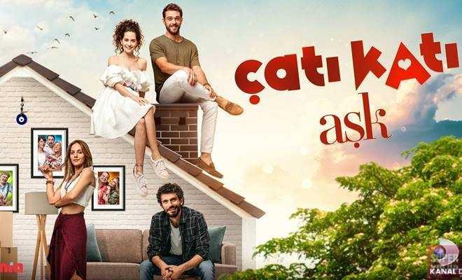 """""""Çatı Katı Aşk"""" dizisinin afişi yayınlandı"""
