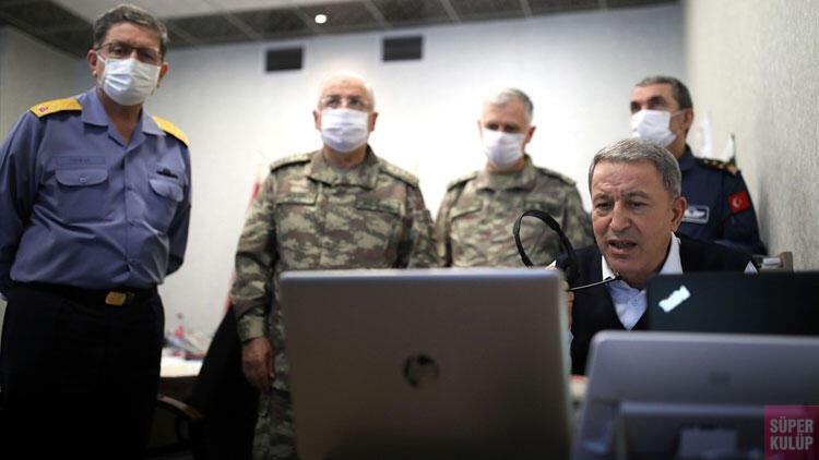 Kuzey Irak'ta kara harekatı! Komandolarımız Haftanin'de
