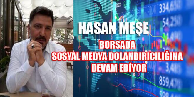 Borsacı Hasan Meşe'ye SPK 6 ay işlem yasağı getirdi