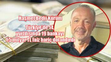 Beşiktaş'lı eski yönetici Haşmet Bedii Kürüm'ün dolandırıcılığı ortaya çıktı!