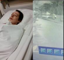 Motorsikletle çarpıp kaçtı