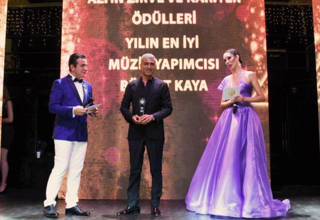 En İyi Müzik Yapımcısı Ödülü Bülent Kaya'nın