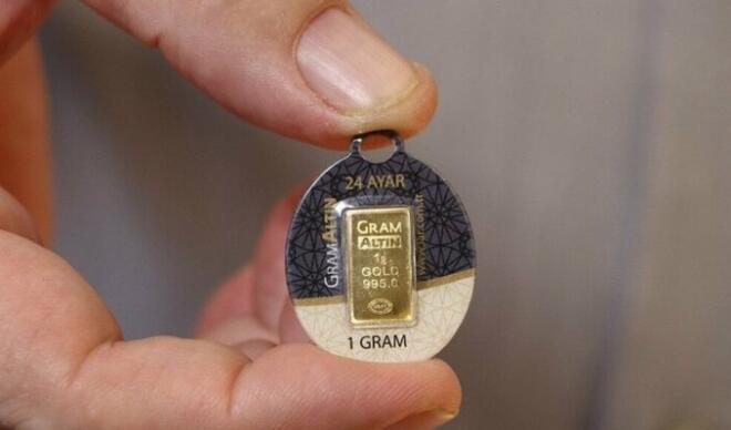 Altının gram fiyatı 456 lirada satılıyor