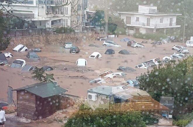 Yunanistan'da sel felaketi! 5 kişi hayatını kaybetti