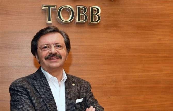 """Hisarcıklıoğlu'ndan TOBB ETÜ öğrencilerine """"Girişimcilik ve Liderlik"""" dersi"""