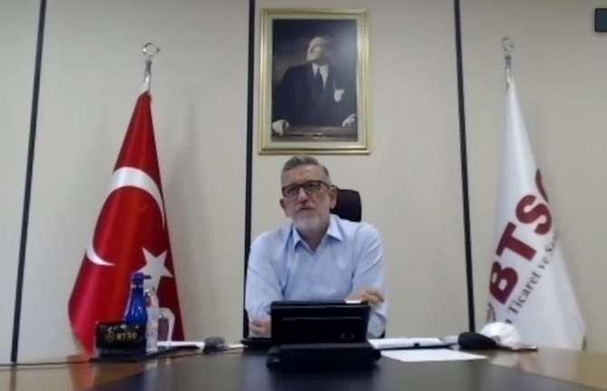 BTSO Başkanı Burkay: Pandemiye rağmen kurulan şirket sayısı artıyor