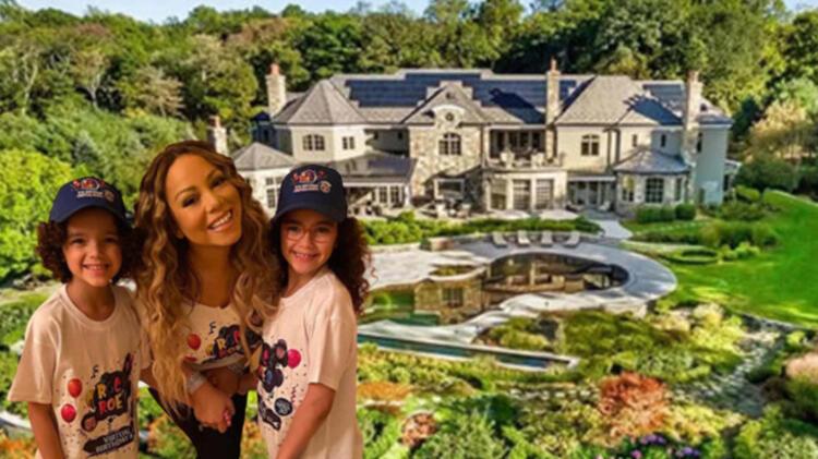 Mariah Carey'in milyon dolarlık karantina evi