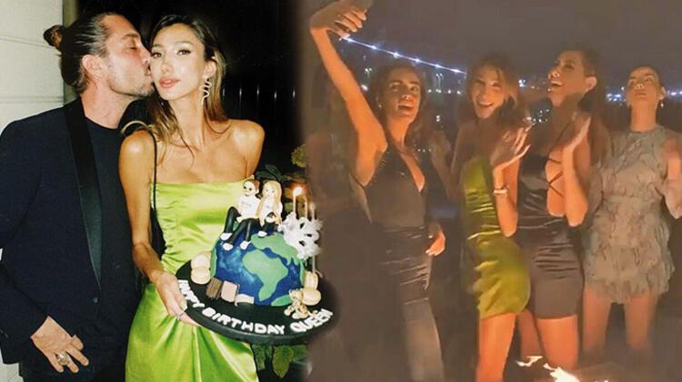 Şevval Şahin'den Boğaz'da 21. yaş partisi!