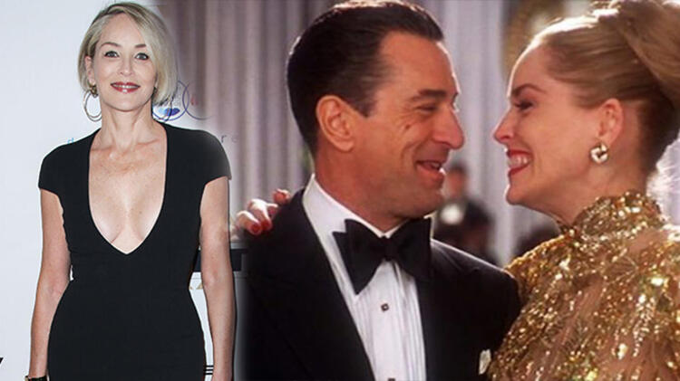 Sharon Stone en iyi öpüşen partnerini açıkladı