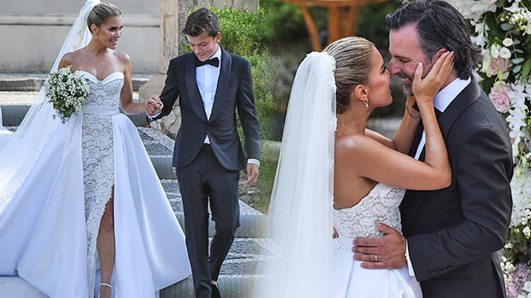 Sylvie Meis ile Niclas Castello evlendi