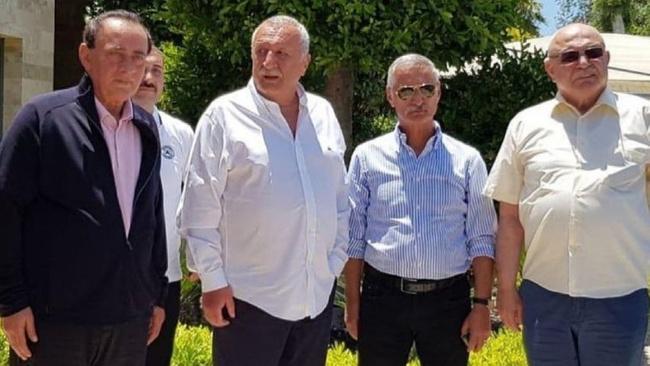 Çakıcı, Ağar, Eken, Alan Bodrum'da bir araya geldi