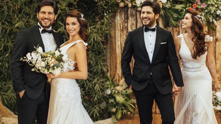 Begüm Birgören ile Mehmet Cemil evlendi