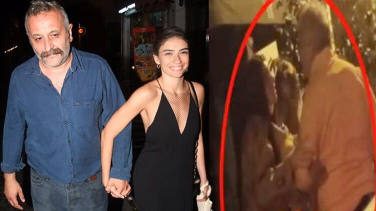 Hazar Ergüçlü'nün sevgilisi Onur Ünlü başka bir kadınla sarmaş dolaş!