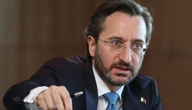 İletişim Başkanı Altun'dan CHP'li vekile tepki: 'Şerefli ordumuza hakaret edenleri lanetliyorum'