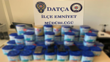 Bebek maması hırsızları Datça'da yakalandı