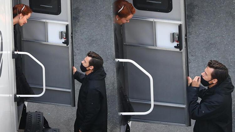 Harry Styles ile Olivia Wilde'ın karavan sohbeti