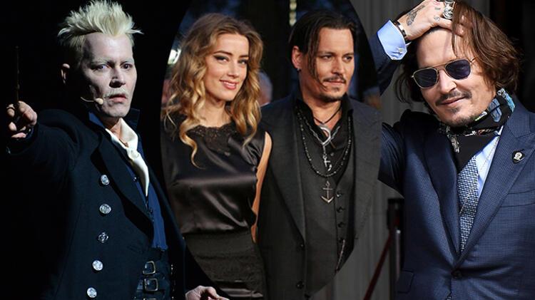 Johnny Depp hem kovuldu hem de 10 milyon dolar alacak