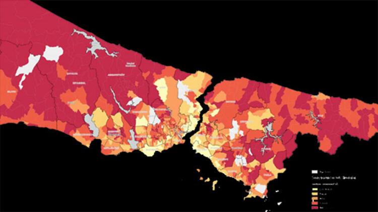 Son dakika! İBB'nin yayınladığı koronavirüs raporuna göre en riskli 40 mahalle