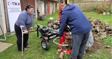 TİKA Hırvatistan'da yaşlıların yaşamını kolaylaştırıyor
