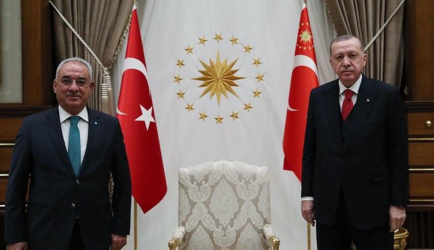 Hangi 'Sol' parti Erdoğan'ı ziyaret etti?
