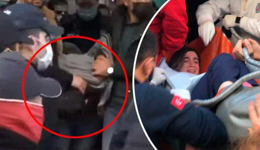 Şişli'de hareketli dakikalar… Bıçaklı saldırgan hemşireyi rehin aldı