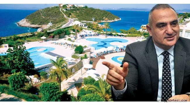 Hayırlı İşler! Bakan Ersoy'un şirketi Türkbükü'ndeki lüks oteli aldı