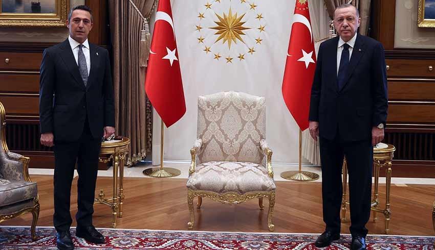 Ali Koç'tan Cumhurbaşkanı Erdoğan sürprizi