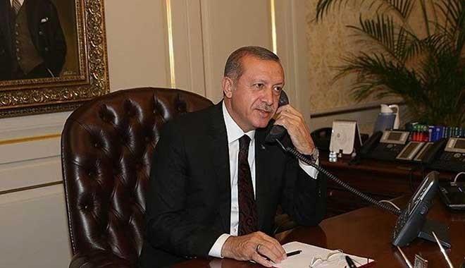 Cumhurbaşkanı Erdoğan Nijerya açıklarında saldırıya uğrayan geminin kaptanı ile görüştü