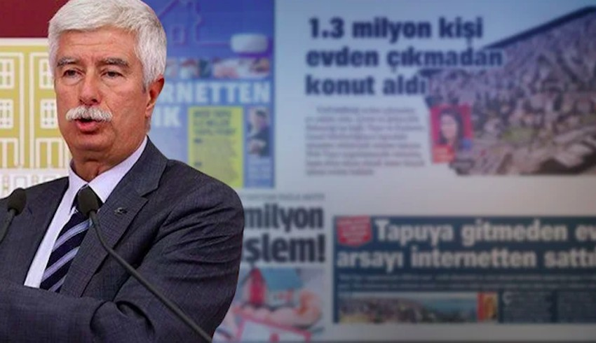 Faruk Bildirici: 6 gazetede aynı haber, bültenlerin özel haber gibi sunulması 'gazetecilik' faaliyeti haline gelmiş durumda
