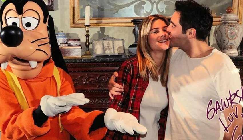 Hacı Sabancı nişanlısı Zeynep Nazlı Kayı'nın doğum gününü kutladı