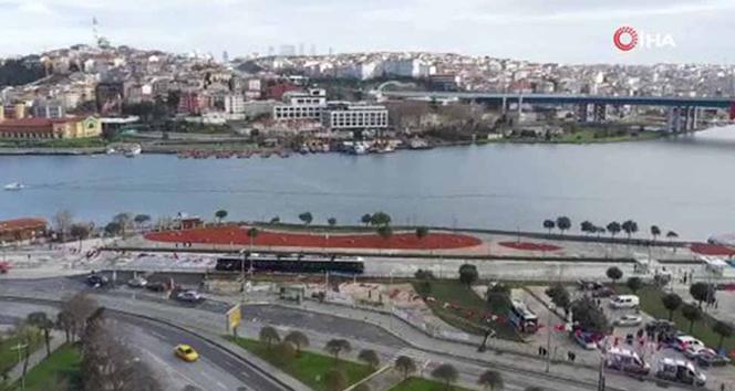 Eminönü-Alibeyköy tramvay hattı açıldı