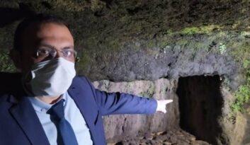 Tarsus'ta şaşkına çeviren görüntü! Sular çekilince ortaya çıktı…