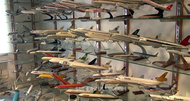GOKHAN SARIGOL 2 - İşadamı Gökhan Sarıgöl'ün 2.5 milyon dolarlık maket uçağı var!