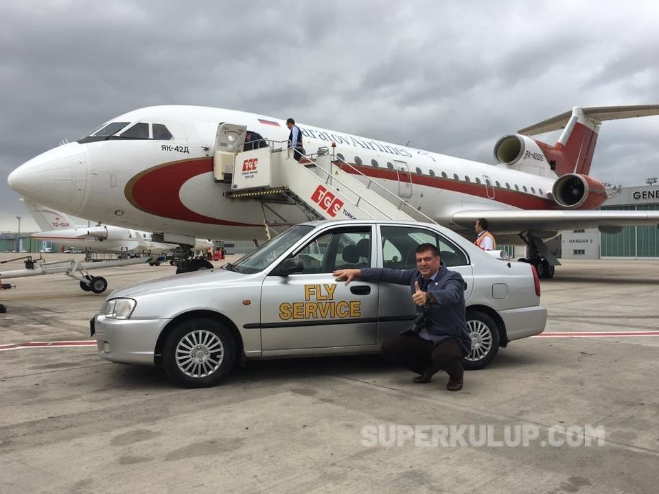 GOKHAN SARIGOL 8 - Dünyanın tüm uçakları işadamı Gökhan Sarıgöl'ün koleksiyonunda