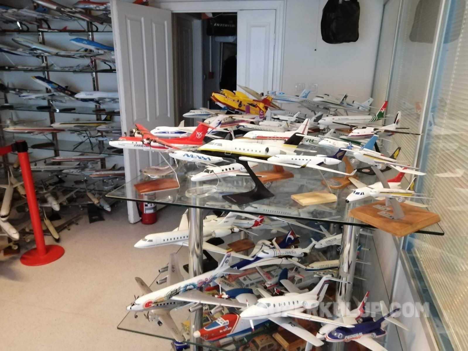 IMG 20210205 WA0071 - İşadamı Gökhan Sarıgöl'ün 2.5 milyon dolarlık maket uçağı var!