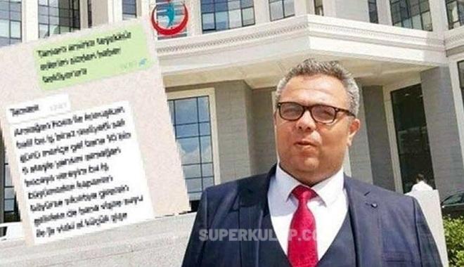 WhatsApp mesajıyla rüşvet alan hastane müdürü görevden alındı