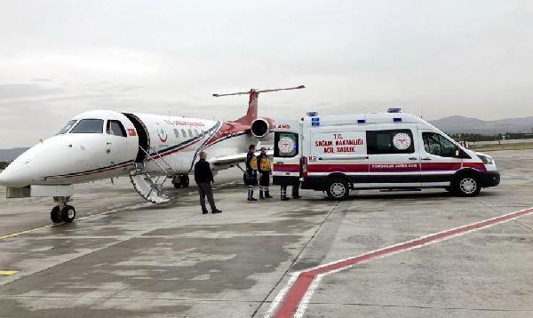 kalp hastasi iki bebek ambulans ucakla sevk edildi 0 - Kalp hastası iki bebek, ambulans uçakla sevk edildi